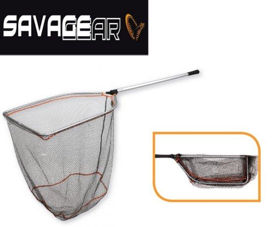 Savage Gear Pro Folding Rubber Landing Net